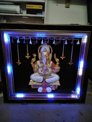 Stone Frame With Led Lighting