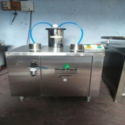 Semi Air Jet Bottle Cleaning Machine