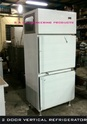 Stainless Steel Two Door Vertical Refrigerator