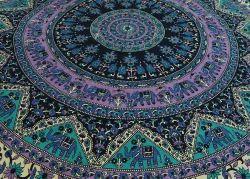 Mandala Laharia Tapestry