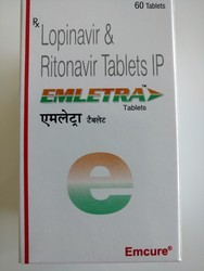 Emletra Tablet - Lopinavir & Ritonavir Tablets