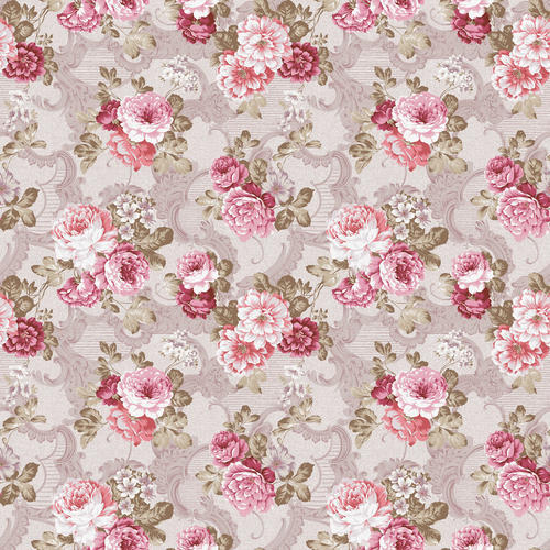 floral print wallpapers at rs 1700 roll flower wallpaper id