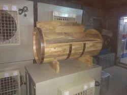 Wooden Barrel Sofa