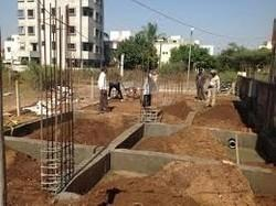 Concrete Frame Structures 25 Residential Flat Building Construction Services, Jhansi