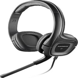 Black Plantronics Audio-355 Headsets
