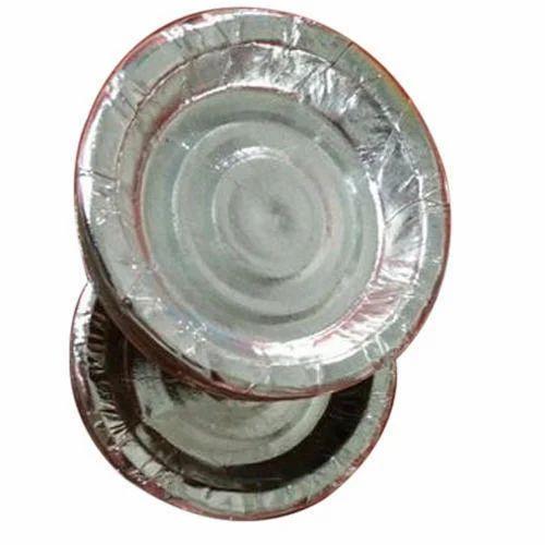 6 Inch Silver Paper Plate  sc 1 st  IndiaMART & 6 Inch Silver Paper Plate at Rs 100 /pack | Silver Foil Paper Plates ...