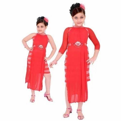 f556151ab Kids Girls Party Wear Dress