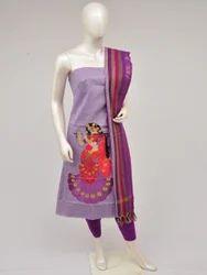 Handloom Doll Drop Dress Material
