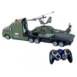 Combo Truck and Helicopter Remote Toy