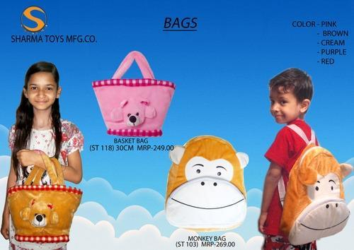 Soft Toy Bags, Carry Bags And Multiutility Bags & Pouches