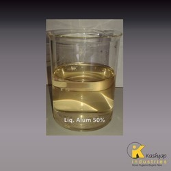 non ferric aluminum sulphate 50 liquid solution