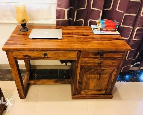 Sheesham Wood Study Table Size Dimension 43 20 30 Rs 14000