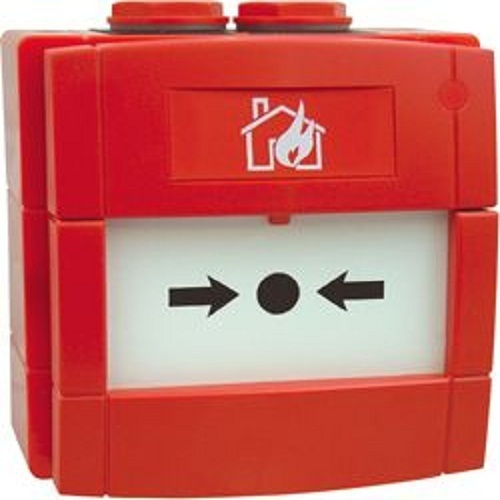 Plastic Fire Alarm Control Panel Morley Manual Call Point, For Industrial