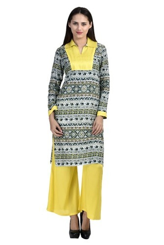9e9c75fa56 Kurti With Plazo, Kurti Plazo Set | Dasghara, New Delhi | Bag It Now ...