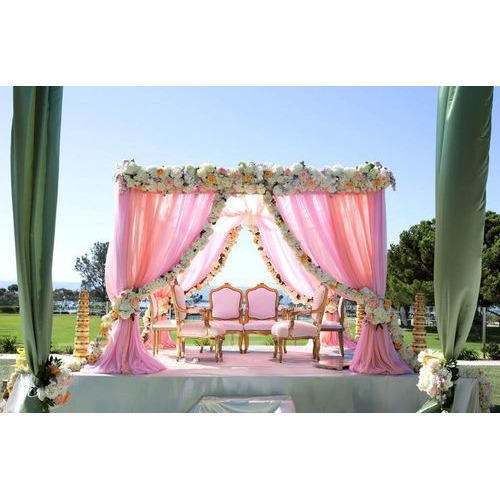 Wedding stage backdrop at rs 1250 piece tent shamiyana wedding stage backdrop junglespirit Images