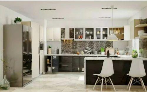 hafele design studio - manufacturer of l shape modular kitchen