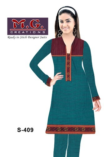 ce506beebe Ladies Designer Woolen Kurti And Bottom Fabric at Rs 870 /set(s ...