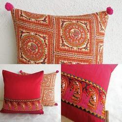 Tribal Print Pashmina Cushion Cover