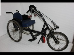 Wheel Chair Cum Tricycle