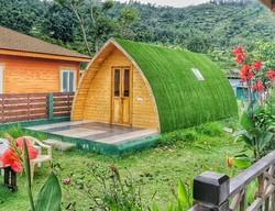 Wood Wooden Camping Pods
