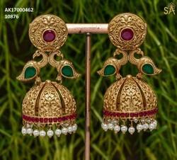 858e8842c587a Gold Jhumkas in Chennai, Tamil Nadu | Get Latest Price from ...