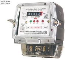 Single Phase KWH Energy Meter Static Type COUNTER AND LCD, 240v