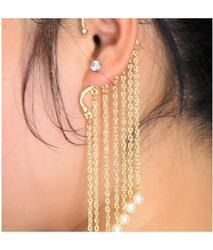 Pearl Drop Ear Cuff