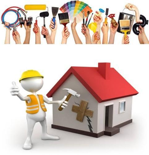 House Painting Service By Air Less Painting Machines in