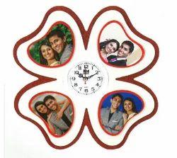 Flower Clock Photo Frame