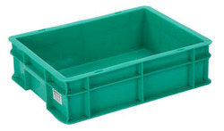 Green Plastic Crates