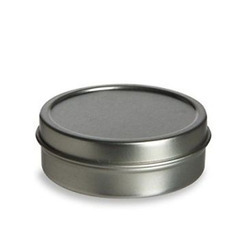 Rectangular Tin Containers With Food Lacquer
