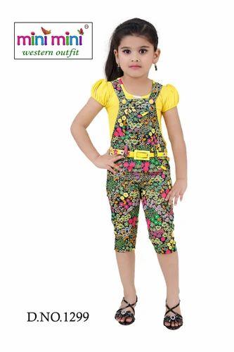 3776d74bf Printed Kids Dangri Set at Rs 795 /piece(s)   Kids Dresses   ID ...
