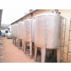 Industrial SS Storage Tank