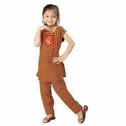 Rajasthani Sanganeri Motif Salwar Suit Set 102C
