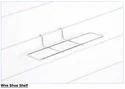 260x70x100 Mm Wire Shoe Shelf For Slat Wall