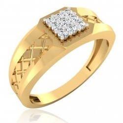 The Camelia Diamond Mens Ring