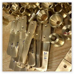 Bar Ledges Brass Plate