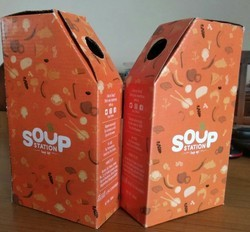 Paper Soup Delivery Box
