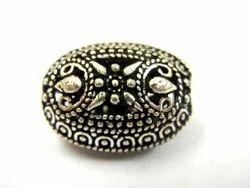 Oxidized Oval Beads