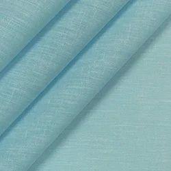 Regular Wear Linen Plain Shirt Fabric