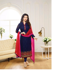 Zubeeda Georgette Suit