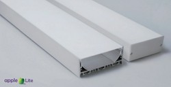 80Mm Linear LED Profile Surface Housing