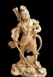 Makrana Marble Parshuram Statue