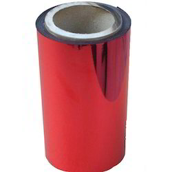 12 Micron Red Color Polyester Film