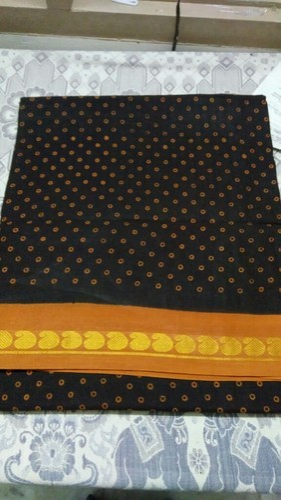 fc8650f6a9335d Block Printed Casual Wear And Wedding Wear Madurai Sungudi Cotton Sarees