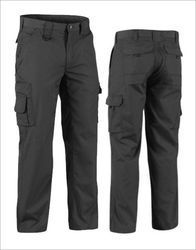 Polyester Mix Cotton Men Industrial Cargo Trouser, Size: 28 - 44