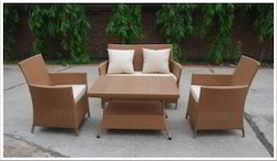 All Weather Wicker Rattan Patio Sofa Set