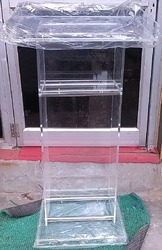 Acrylic Podium Stand  10mm Thick