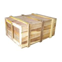 Non-Edible Moisture Proof Wooden Packaging Box, Box Capacity: 201-400 Kg, 16-25 mm