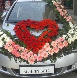 Car decoration for wedding in ahmedabad decor accents wedding car decoration in ahmedabad junglespirit Gallery